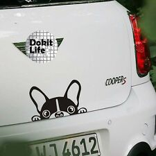 Funny Stickers Pretty Reflective Waterproof Lovely Dog Auto Car Sticker