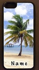 Personalized tropical island PALM TREE beach CELL PHONE CASE COVER for mobiles