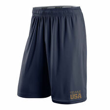 Limited Edition Nike Dri-Fit 2016 Rio Olympics Team USA Gold Fly Player Shorts
