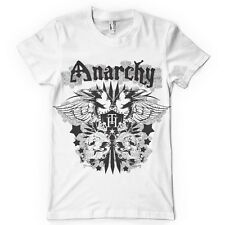 Anarchy Tee Mens Big and Tall Graphic T Shirt Pro Club Short Sleeve