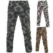 New Mens Casual Military Army Cargo Camo Combat Youth Loose Camouflage Work Pant