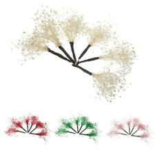 6pcs Multicolor Wedding Bridal Flower Hair Pins Bobby Pins Fairy Headpieces