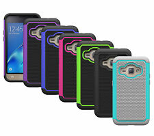 For Samsung Galaxy Express 3 Case Dual Layer Protective Armor Hybrid Phone Cover