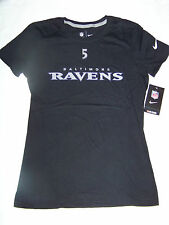 Nike Women's Baltimore Ravens #5 Joe Flacco Shirt NWT