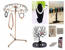 23 Hooks Earrings Necklaces Jewelry Rack Display Show Stand Key Holder GP