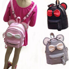 Mini Backpack For Girls Cute Mouse Ear Bag High Quality Women Leather Backpack