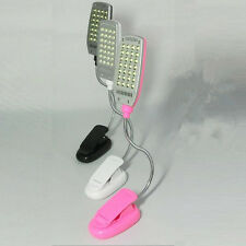 On Bed Table 28 LED USB Reading light Flexible Hot Fashion Desk Lamp Light Clip