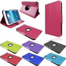 "For Samsung Galaxy Tab 3 8.0"" Inch Thin Smart Sleep Wake Wallet Stand Case Cover"