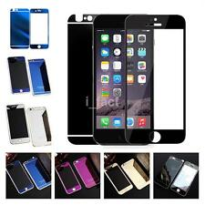 Front+Back Mirror Tempered Film Glass Case Cover Screen Protector For iPhone USA