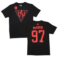 North America World Cup of Hockey Connor McDavid Black Name and Number T-Shirt