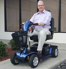 Pride Mobility VICTORY SPORT Scooter 4-wheel Used S710DXW Viper Blue