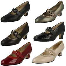 Equity Ladies Mary Jane Court Shoes 'Maxine'