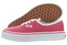 Vans Authentic Pop Binding Kids VN0003Y7IHP Red White Canvas Shoes Medium Youth