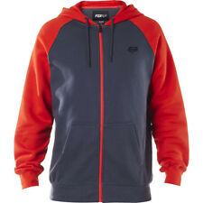 Fox Racing Legacy Mens Hoody Zip - Pewter All Sizes