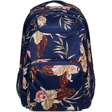 Roxy Shadow Swell Womens Rucksack - Castaway Floral Blue One Size