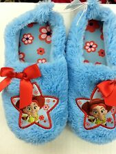 Toy Story Jessie Cowgirl Youth girl blue slipper 11/12 or 13/1, Disney