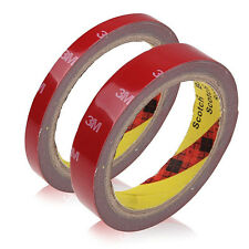 3M Permanent Double Sided Self Adhesive Crafts Sticky Glue Tape Roll Adhesive