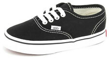 New Youth Vans Authentic Toddler Black/white Footwear Sneakers Shoes Runners