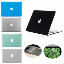 "3 in 1 Rubberized Hard Case Cover for Apple Macbook Air 11.6"" A1370 A1465"