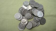 90 % Silver Roosevelt Dimes Lot of 10 Dimes ** 1946-1964 , Face Value 1.00 # 73