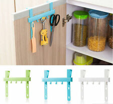 Towel Hanger Door Rack Hanging Rack Home Kitchen Storage New Holders Five Hooks
