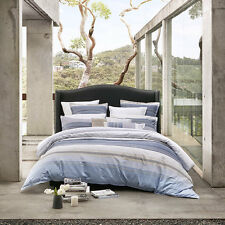 Avoca Chambray Quilt Cover Set By Private Collection