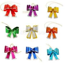 10pcs Pull Bowknot Gift Wrapping Birthday Wedding Chrismtas Present Decorarion