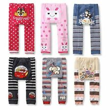 Toddler Infant Cotton Trousers Baby Boys Girls Kid Warm PP Pants Leggings 0-24M