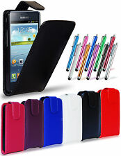 Leather Flip Case Cover Pouch LCD Film & Stylus For Samsung I9100 Galaxy S2 II