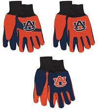 Brand New NCAA Auburn Tigers Tide No Slip Grip Utility Work Gardening Gloves