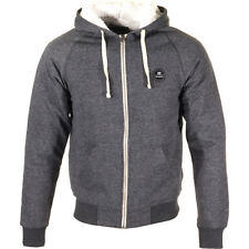 Billabong All Day Sherpa Mens Hoody Zip - Dark Grey Heather All Sizes