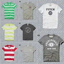New Abercrombie & Fitch Men's T-Shirt Size Small, Medium, Large, XL, XXL