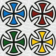 INDEPENDENT TRUCK COMPANY Cut Cross Skateboard Sticker - 1 x INDY DECAL