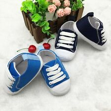 Soft Sole Crib Shoes Infant Toddler Baby Boy Girl Sneaker Newborn to 18 Month
