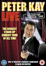 PETER KAY - LIVE - THE TOUR THAT DIDN'T TOUR TOUR ~ Stand Up Comedy UK DVD