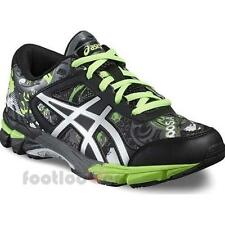 Shoes Asics Gel-Noosa Tri 11 GS C603N 9793 Boy's Running Bike Black Green