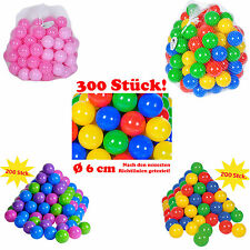 Balls for Baby 100 or 200 or 300 Pieces in net from Knorrtoys select 1 Set of