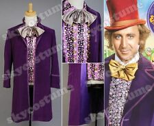 Willy Wonka and the Chocolate Factory Costume Set - Coat,Vest,Bow Tie