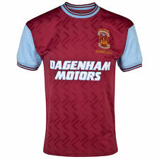 Score Draw Retro Mens Gents Football Soccer West Ham Utd 1994 Shirt Jersey Top