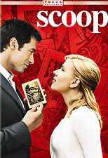 Scoop (DVD, 2006, Widescreen) Scarlett Johansson - Usually ships in 12 hours!!!
