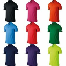 Nike Mens Victory Short Sleeve Solid Polo Shirt