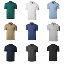 ID Mens Classic Short Sleeve Pique Polo Shirt With Pocket