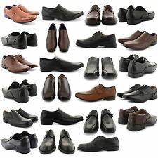 NEW MENS CASUAL COMFORT POINTED TOE PARTY OFFICE SLIP ON VELCRO FASHION SHOES UK