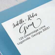Custom Family Return Address Stamps Personalized Self Inking Rubber Stamper