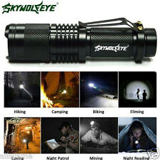 Super Bright 6000 Lumen CREE XML T6 Tactical Zoomable LED Flashlight Torch Lamp