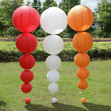 "6""8""10""12""14"" 5Pcs Chinese Paper Lantern Lamp Shade Wedding Party Decoration"