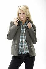 HS Fashion Jacket Quilted olive 8807 All Weather with Wind + Cold