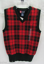 Boys Sweater Vest in Sizes 8-20 Chaps Sportswear Nwt