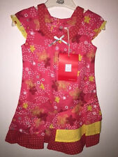 NWT Deux par Deux,  ASYMETRICAL CUT pink DRESS girls 2y 3y 4y  style E92