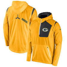 Limited Edition Nike 2016 Green Bay Packers Vapor Speed Fly Rush Half Zip Jacket